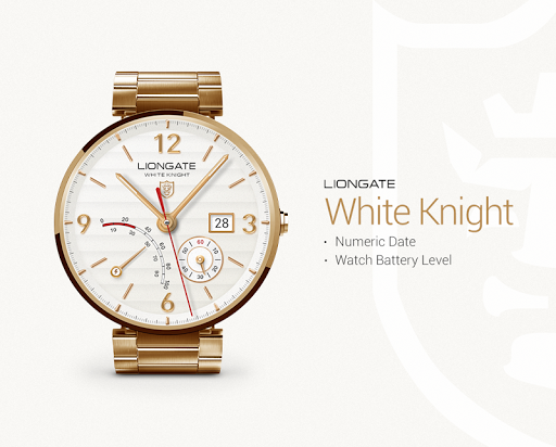 White Knight watchface by Lion
