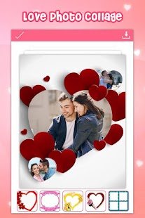 Love Photo Collage Editor - náhled