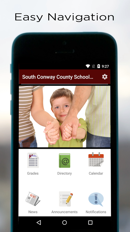South Conway County School District- screenshot