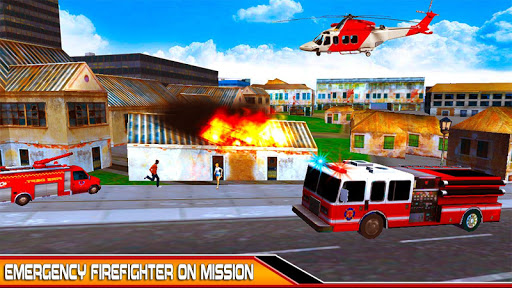 NewYork Rescue Firefighter Emergency truck sim2019  screenshots 1