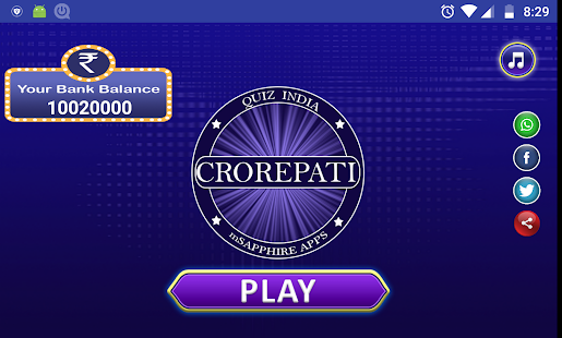 Crorepati game : Quiz App 2018 - náhled