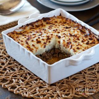 Healthy Shepherd's Pie Recipe (low-carb, whole30, paleo).