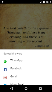 Daily Bible Verse YLT- screenshot thumbnail