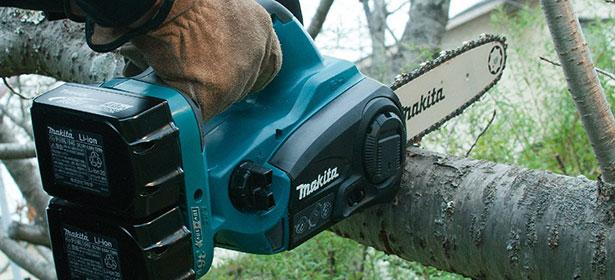 Image result for Cordless chainsaw
