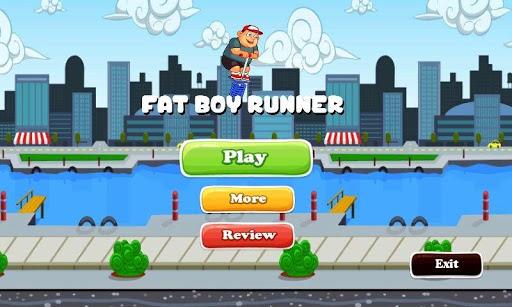 Fat Boy Runner 2D