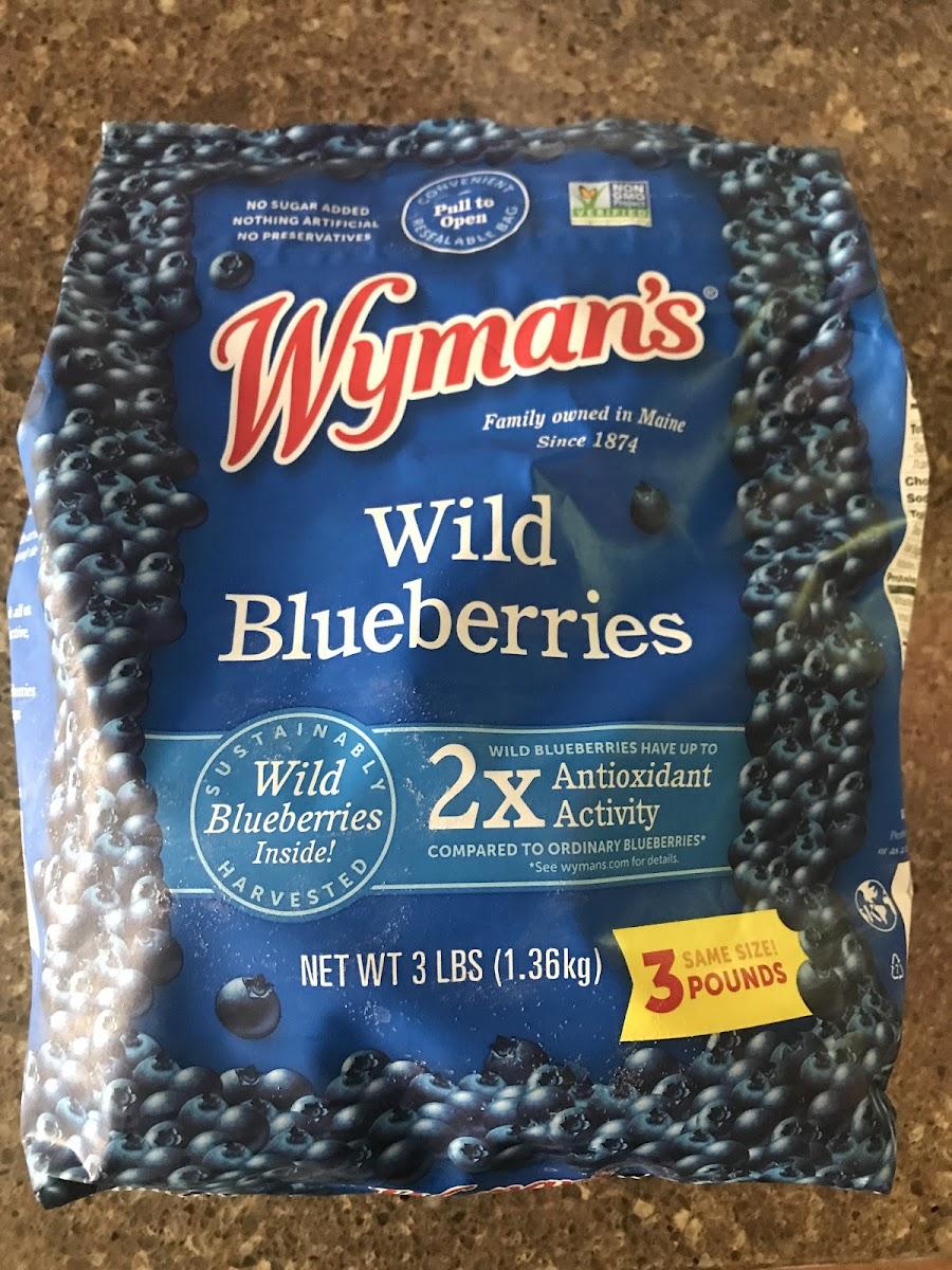 Wild Blueberries(Frozen)