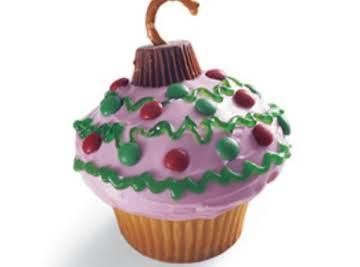 Christmas Ornament Cupcakes