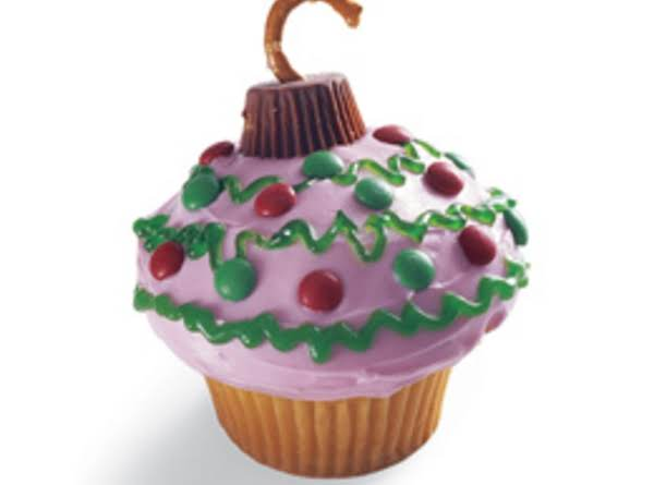 Christmas Ornament Cupcakes Recipe