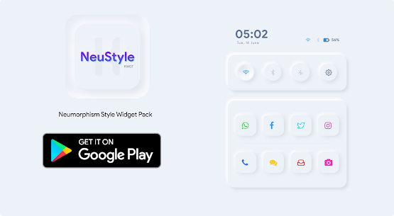 NeuStyle KWGT 1.1 Paid Latest APK Free Download 1