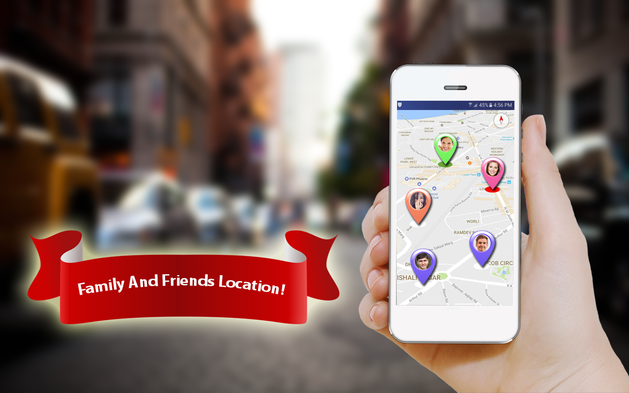 Friend & Family Tracking : GPS Location Finder- screenshot