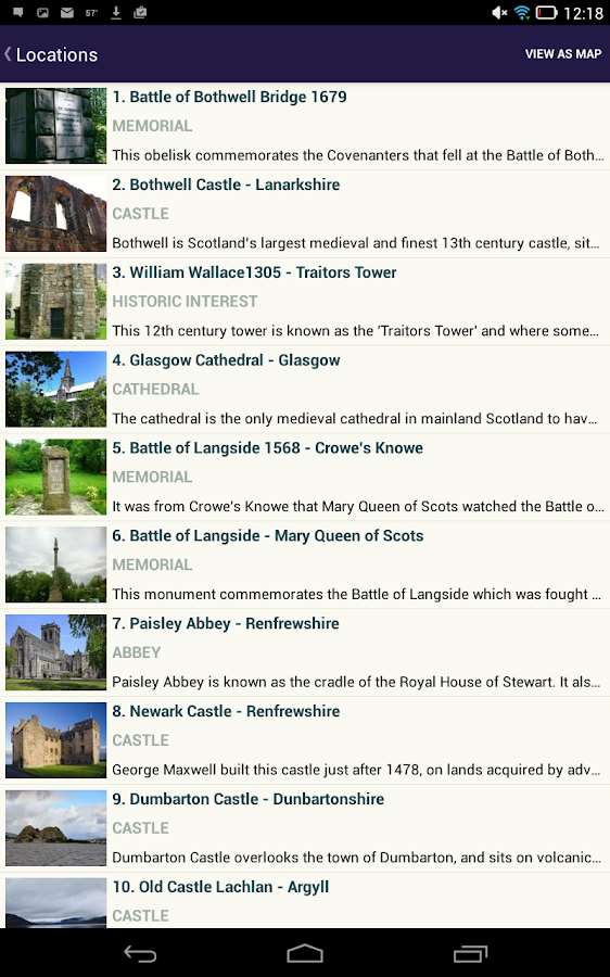 Scottish Battles and Castles - screenshot