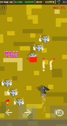 Delta Wing Strikers - Retro Arcade Shoot em up apkmind screenshots 2