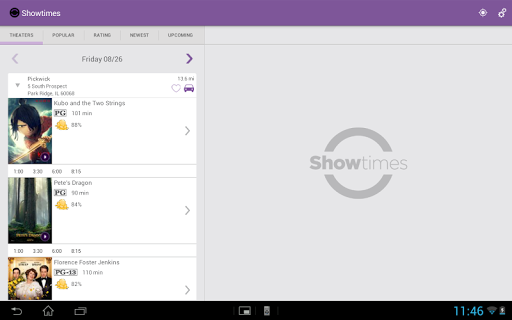 Showtimes (Local Movie Times and Tickets) 2.6 screenshots 6