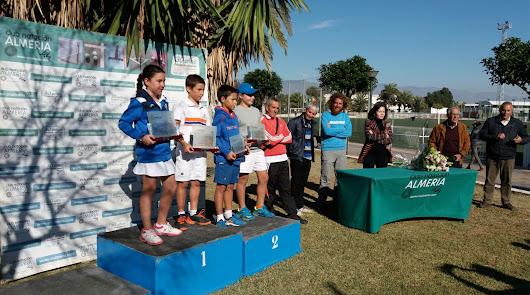 El CN Almería, capital del tenis de Andalucía