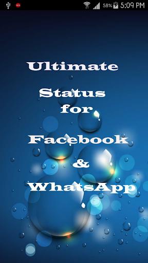 Mobile Facebook Status