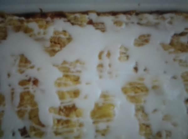 Peach Cobbler Cake Recipe