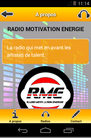 RADIO MOTIVATION ENERGIE- screenshot