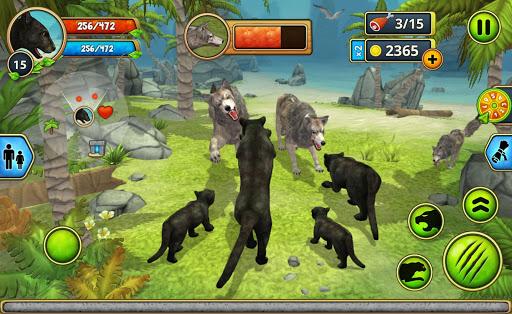 Panther Family Sim Online - Animal Simulator  screenshots 6