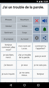 Assistant Parole AAC Screenshot