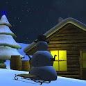 Christmas Snowfall free wall icon