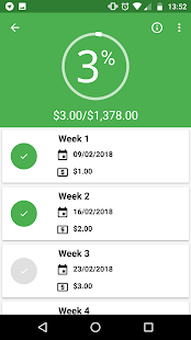 App 52 Weeks Money Challenge - Free APK for Windows Phone