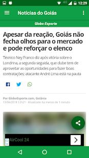 Download Notícias do Goiás For PC Windows and Mac apk screenshot 2