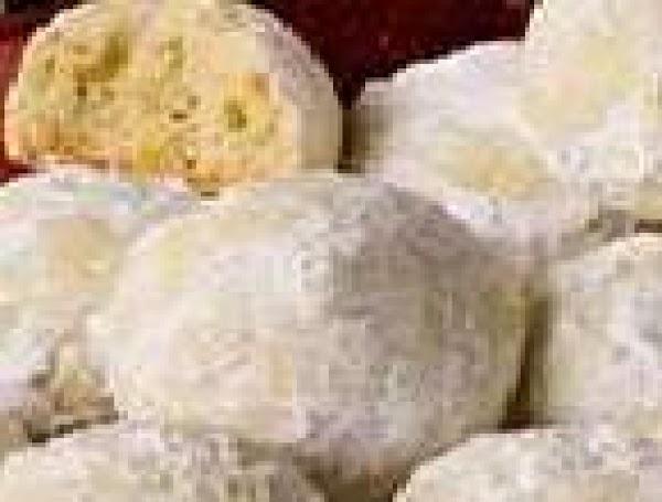 Cardamom Cashew Wedding Cakes Recipe
