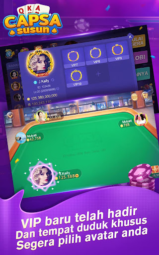 Capsa Susun Online:Poker Free screenshots 2