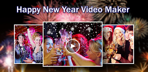 New Year Video Maker with Music 2018 game (apk) free download for Android/PC/Windows screenshot