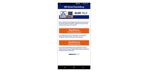 Aldi Talk Sim Karte Freischalten.Aldi Talk Aktivierung Apps Bei Google Play