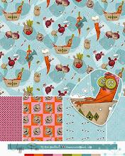 Photo: Veggie Pun Fun :: Surface Design & Illustration © Kim Buchheit