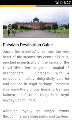 ポツダム ドイツの旅行会社