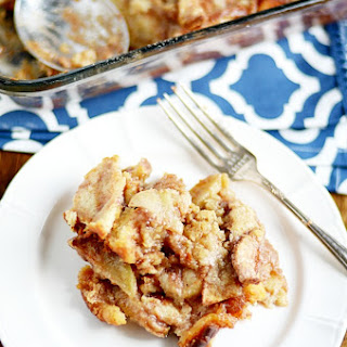 Apple Pie Bread Pudding.