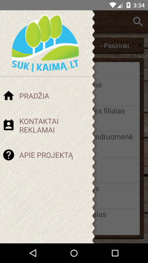 Suk į kaimą- screenshot