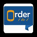 Order1to1 MerchantApp icon