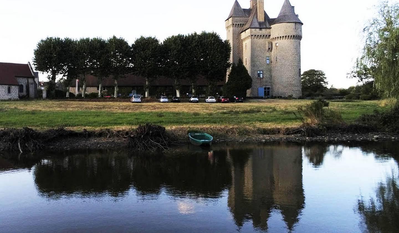Château classé monument historique Gueret