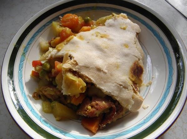 Curried Ham Pot Pie Recipe
