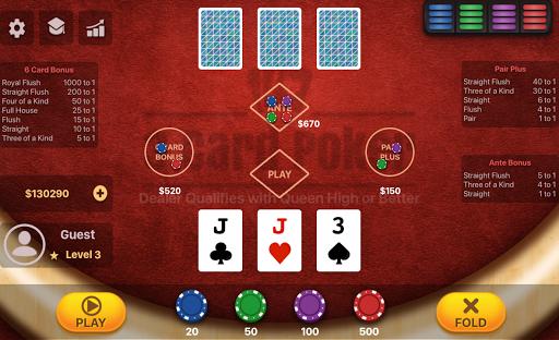 Three Card Poker  screenshots 2