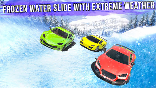 Frozen Water Slide Car Race 1.6 screenshots 12