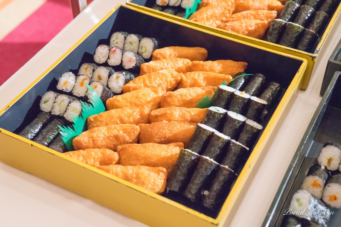 細巻寿司と稲荷