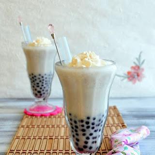 Taro Coconut Smoothie with Taro Boba (新鮮芋頭椰汁波霸冰沙) Recipe
