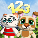 Animal Math Adventure For Kids icon