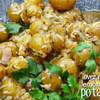 Lemon Butter Potatoes Recipe
