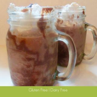 Dairy Free Super Frozen Hot Chocolate