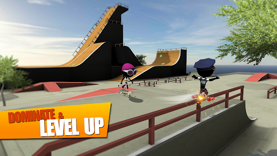 Stickman Skate Battle- screenshot thumbnail