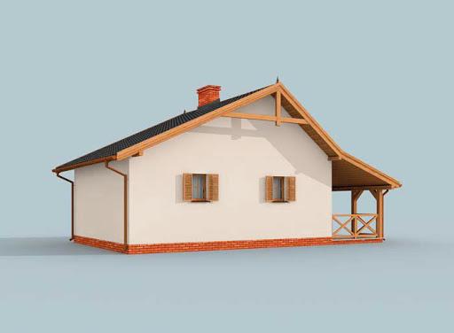 projekt Bahia szkielet drewniany, dom letniskowy