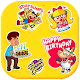 Download Birthday stickers for whatsapp For PC Windows and Mac