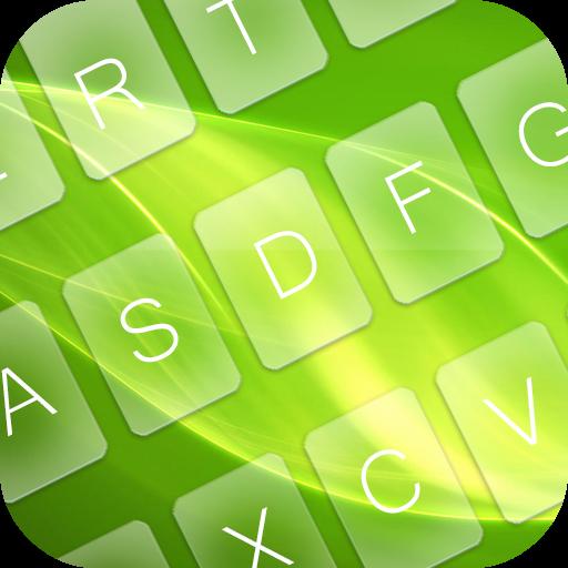 GO Keyboard Green Power 個人化 LOGO-玩APPs