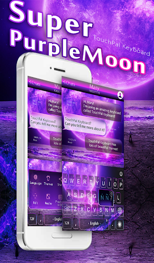 Super Purple Moon Keyboard