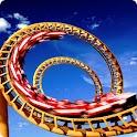 Roller Coaster live wallpaper icon